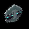 Badge Shadow Hydrakken Hard platinum