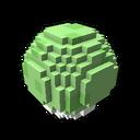 Interactive ball golf green