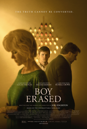 Boy Erased (2018 poster)