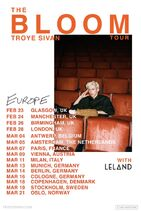 Ts bloom tour euprope promotional poster