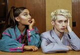 Troye with ariana dtt shoot