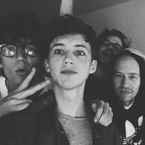 Lany with troye