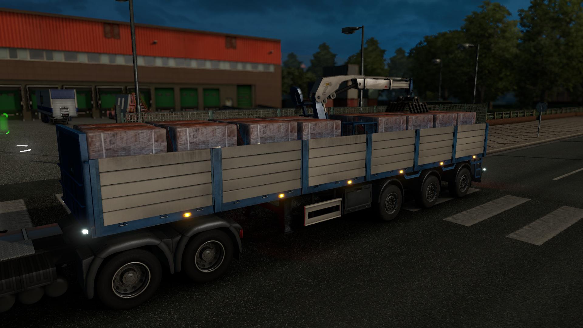 auflieger in euro truck simulator 2 truck simulator. Black Bedroom Furniture Sets. Home Design Ideas