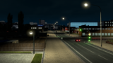 Dijon Ansicht Nacht
