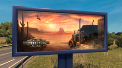 American Truck Simulator Werbung
