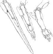 Dolores-arm-blade