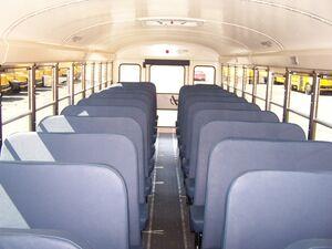 International 3300 Seating View