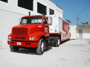 International 4000 Coca Cola Truck