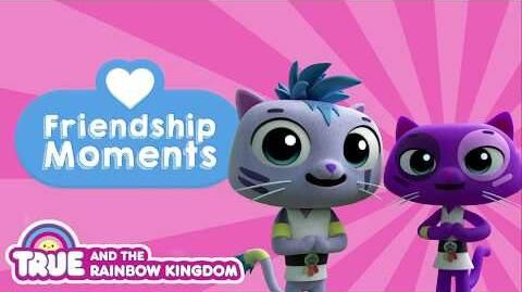Ninja Cat Friends - True and the Rainbow Kingdom Episode Clip