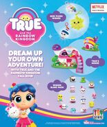 True and the Rainbow Kingdom toys - first look