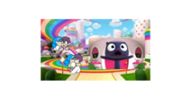 A what meme True and The Rainbow Kingdom