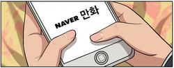 Naver comics link