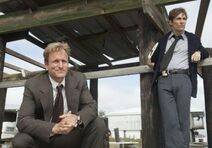 Rust Cohle and Martin Hart