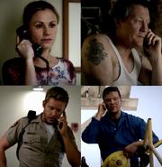 Sad phone calls