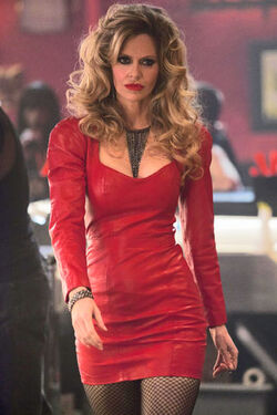 Pam Red tight Dress S5