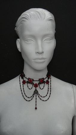 Marianna-harutunian-hematite-swarovski-crystal-and-hematite-black-plated-metal-profile