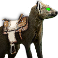 Giant mongoose saddle