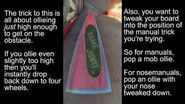 True Skate Tips Manuals