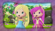 Princesses Lemonella and Raspbelina are shocked