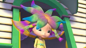 Cytrynka z fryzurą