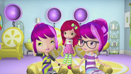 Grape Twins with new hairstyles