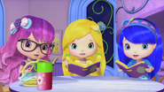 Sweet, Lemon and Blueberry shocked