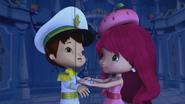 Huckleberry as a puppet