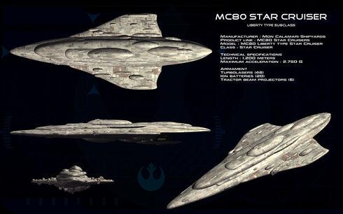 Mc 80 star cruiser