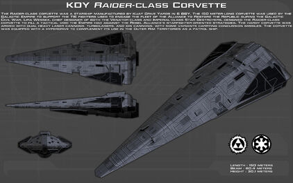 Kdy raider class corvette