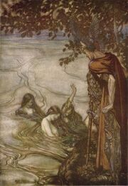 Siegfried rhinemaidens