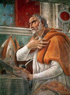 Saint Augustine Portrait