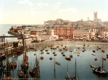 The harbour, Margate, Kent, England, ca. 1897 (1)