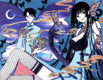Yuko and Watanuki