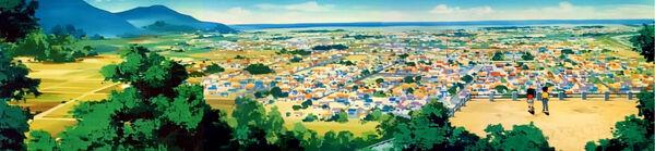 Nankatsu Stadt