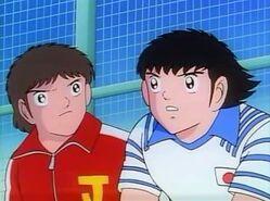 Tsubasa und Misugi (SCT)