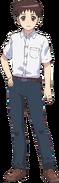 Kazuya-main Anime Design