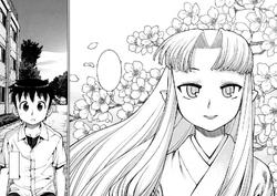 Kazuya meets Kiriha
