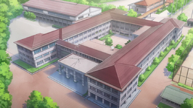 Kazemai school buildings full