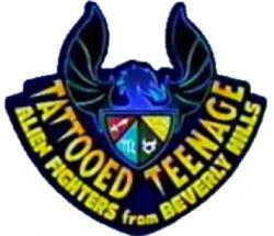 Tattooed Teenage Alien Fighters from Beverly Hills Logo