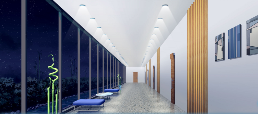 KAIROS HQ 1st hallway