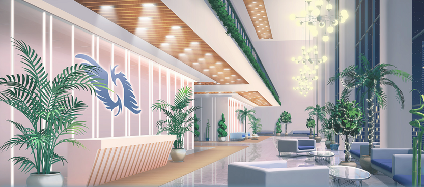KAIROS HQ Main Lobby