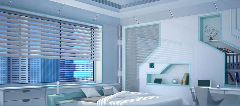 MC bedroom day