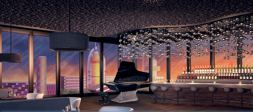 Lounge evening phase