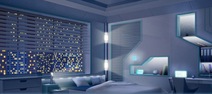 MC bedroom night 1