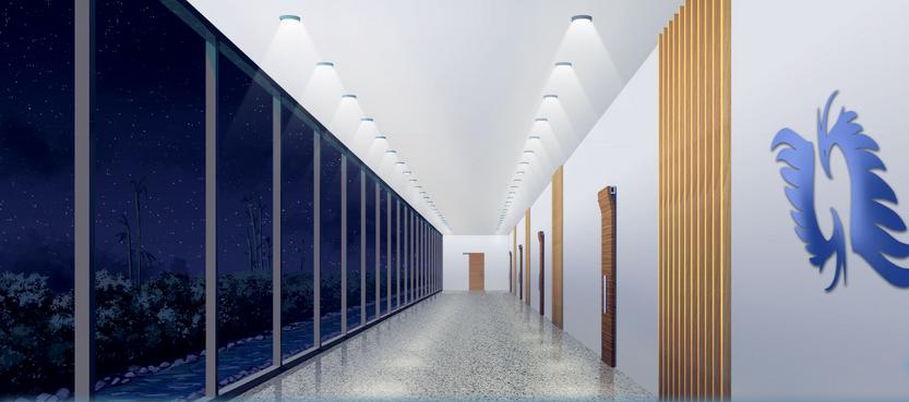 KAIROS HQ 3rd hallway