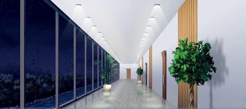 KAIROS HQ 2nd hallway