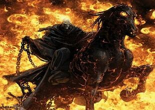 Hell horse Wallpaper uckru