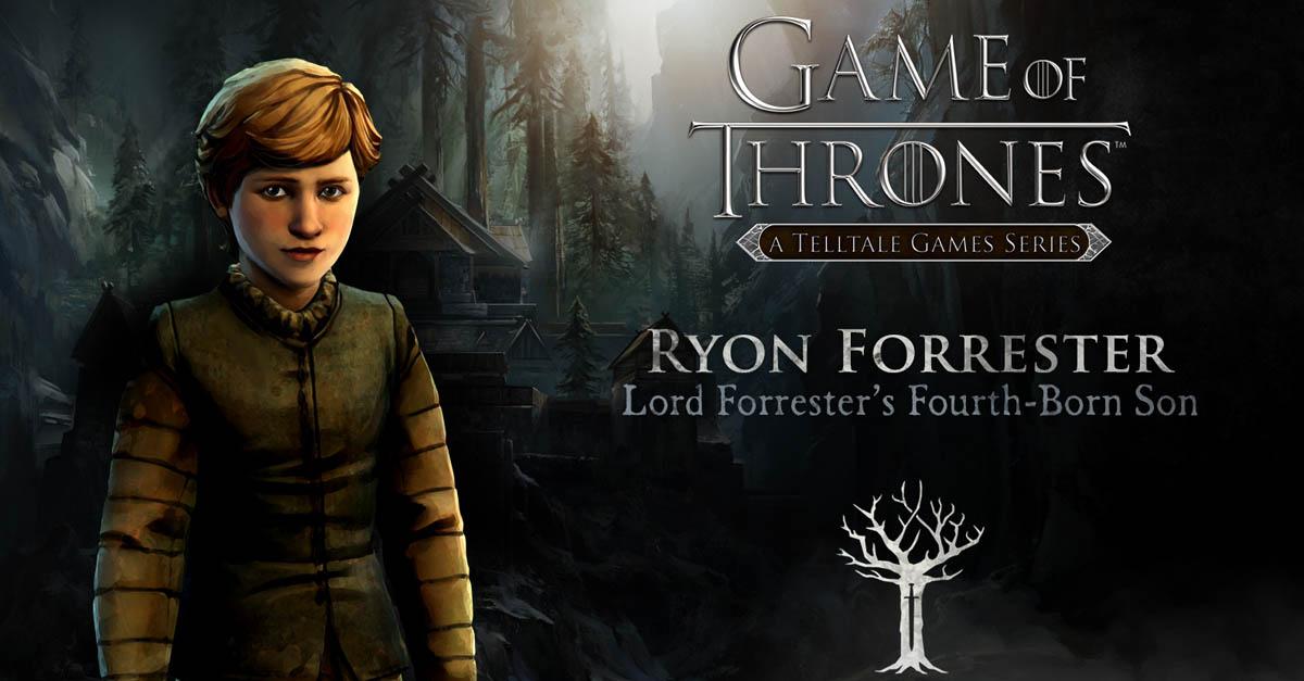 Ryon Forrester Gallery Telltales Game Of Thrones Wiki Fandom