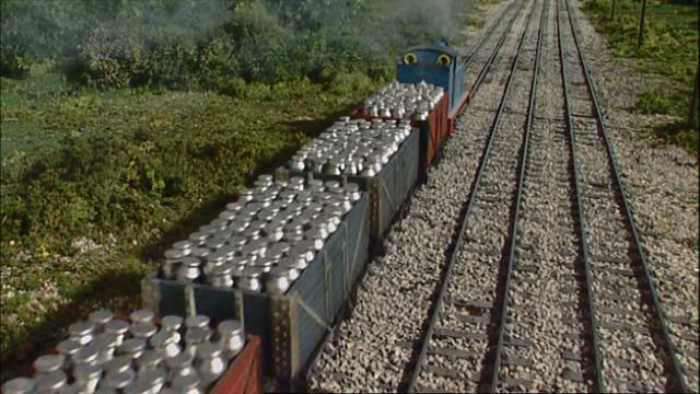 TV版第9シーズンのミルク缶