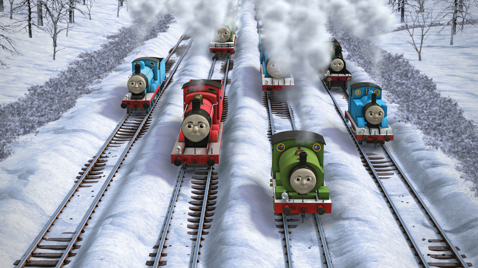 The Missing Christmas Decorations Thomas The Tank Engine Wikia